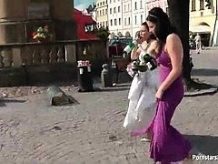 День свадьбы с влажной дыркой