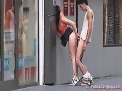 Публичный секс в казино