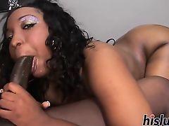 Хуй монстра для черной проститутки